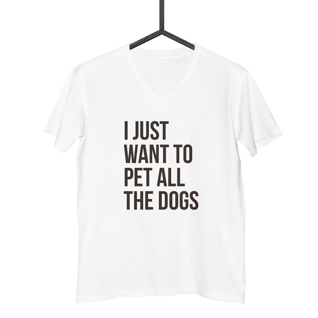 Camiseta I Just Want to Pet