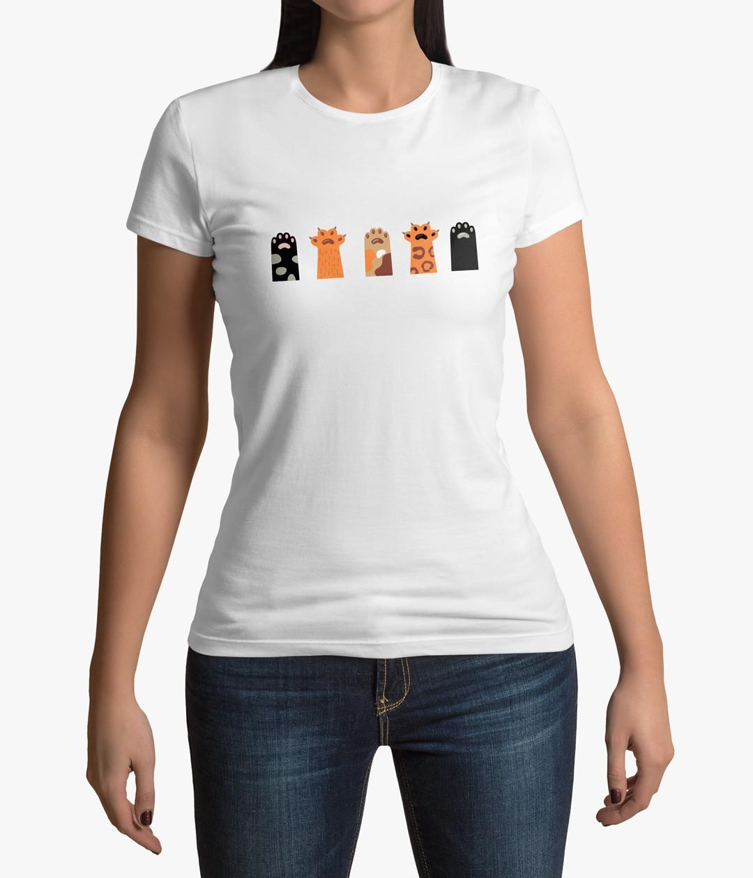 Camiseta Patas de Gato