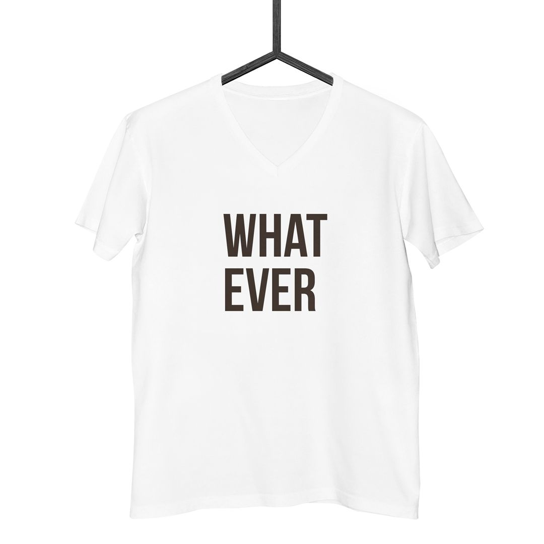 Camiseta Whatever