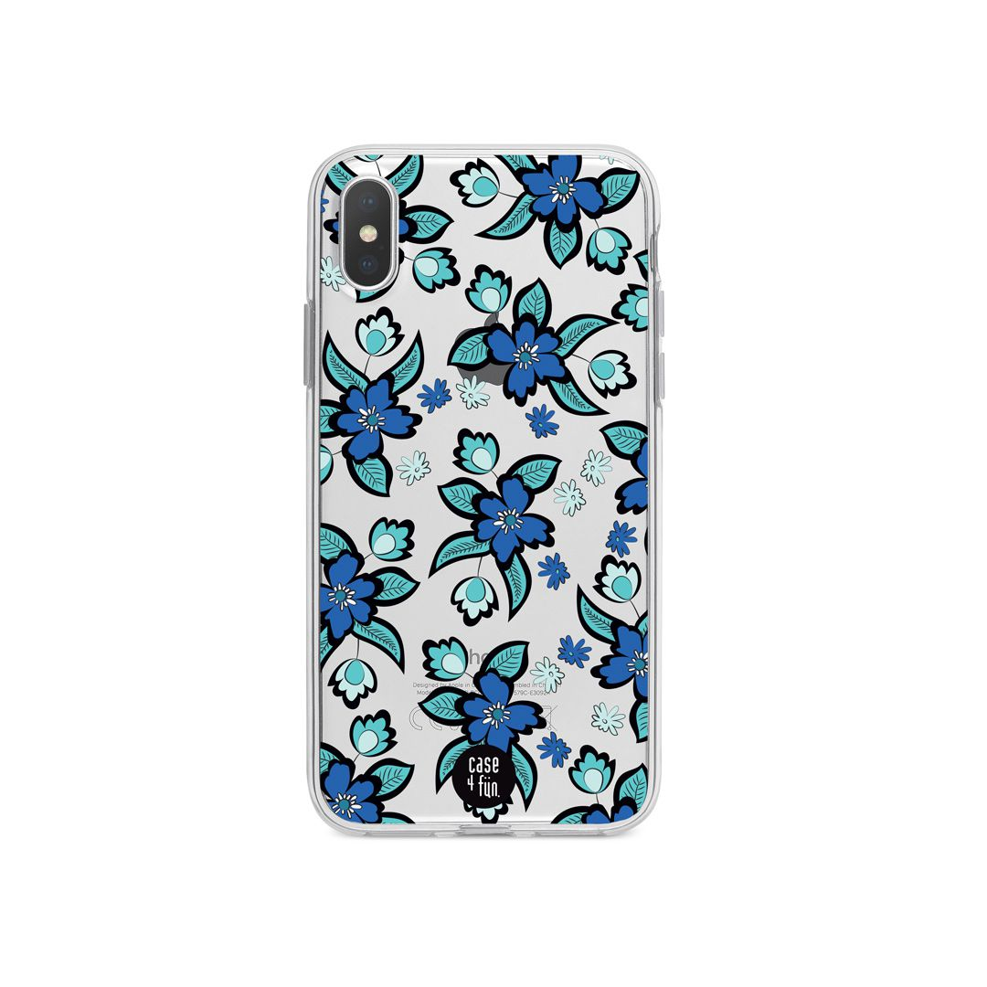 Case Flores Azuis