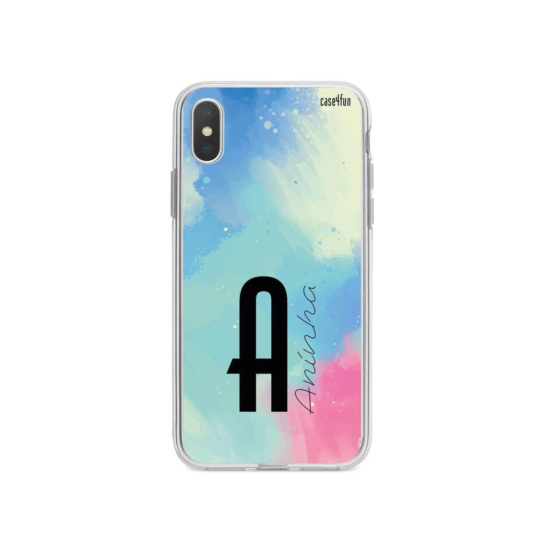 Case Monograma Aquarela
