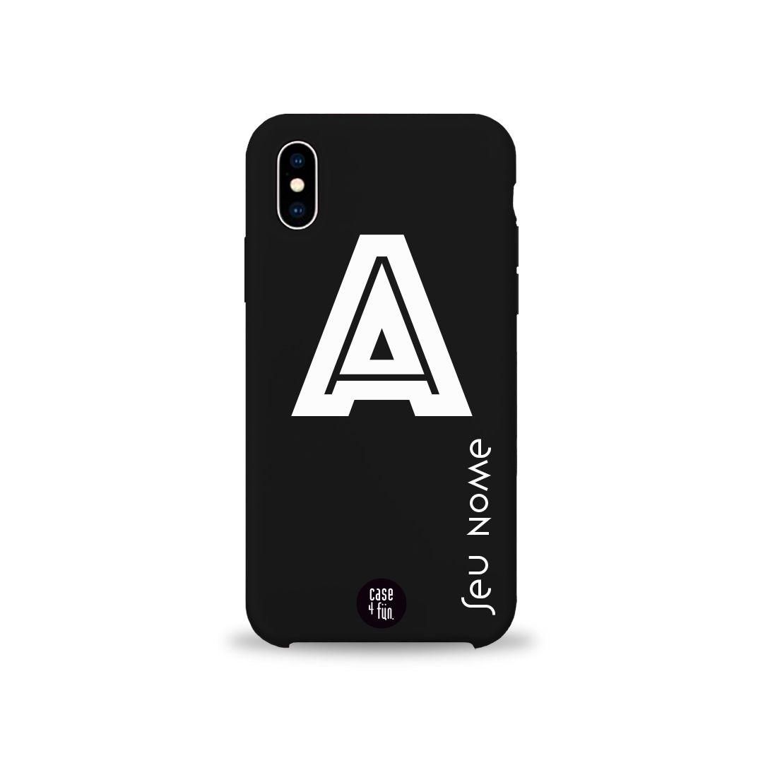 Case Monograma Black