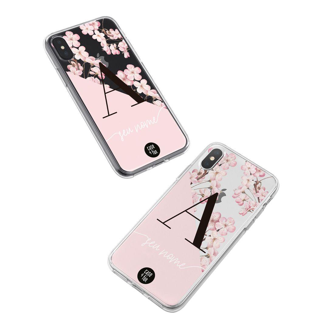 Case Monograma Cherry Blossom