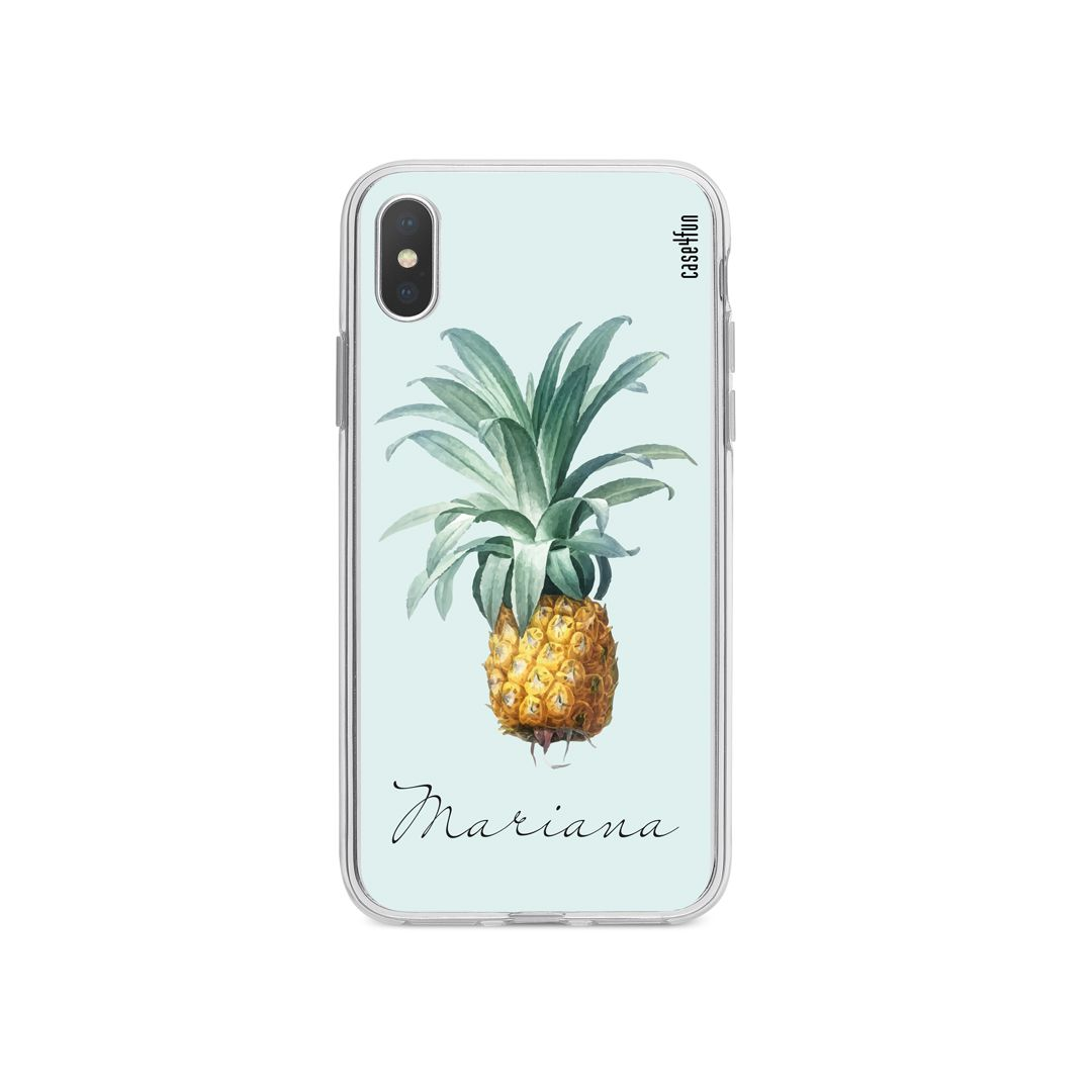 Case Pineapple Watercolor