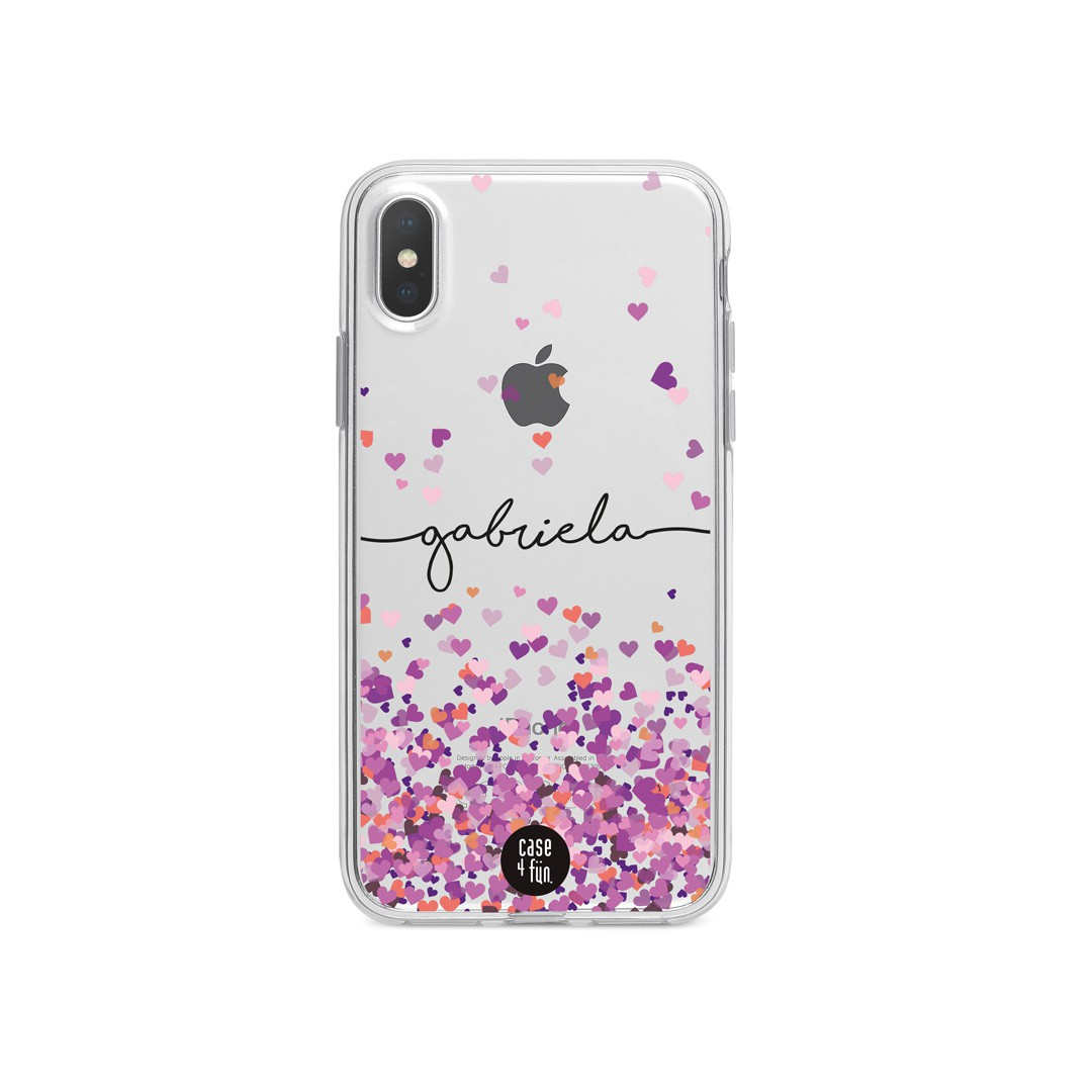 Case Pink Hearts
