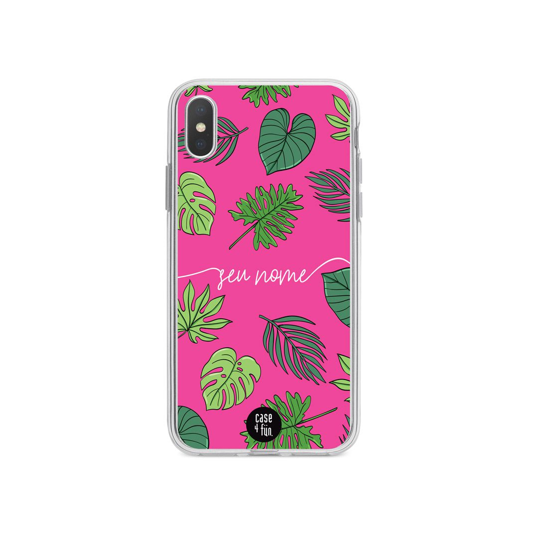 Case Pink Tropical
