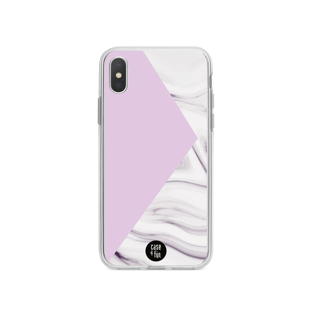 Case Purple and Marble