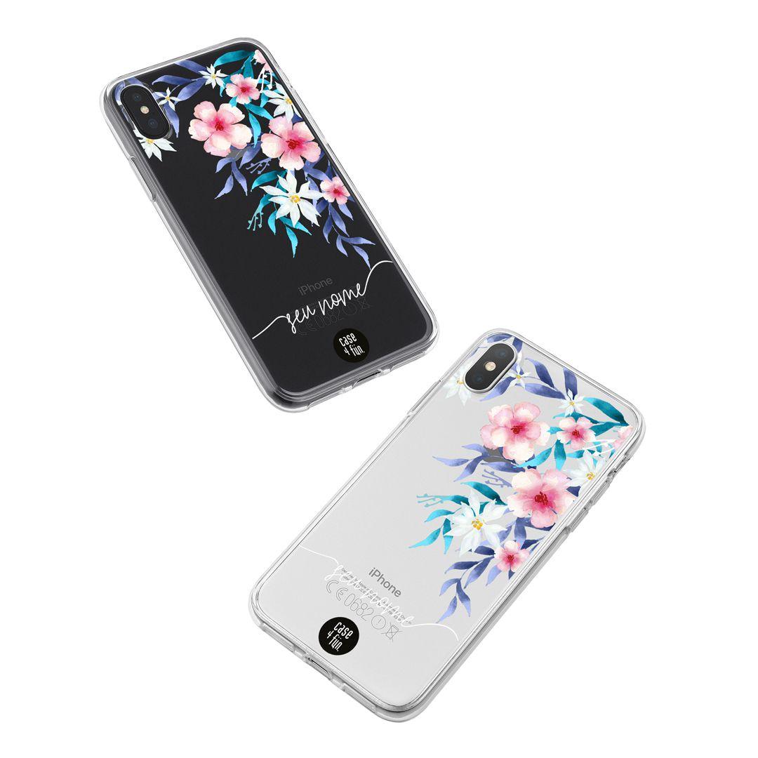 Case Romantic Flowers