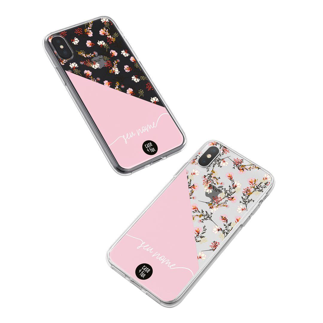 Case Rosa e Floral