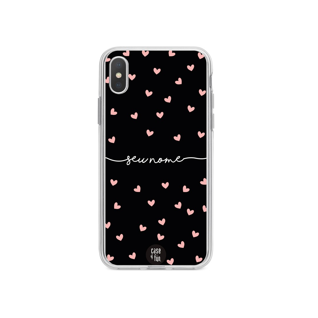 Case Rose Hearts