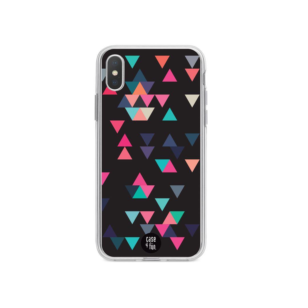 Case Triângulos Coloridos