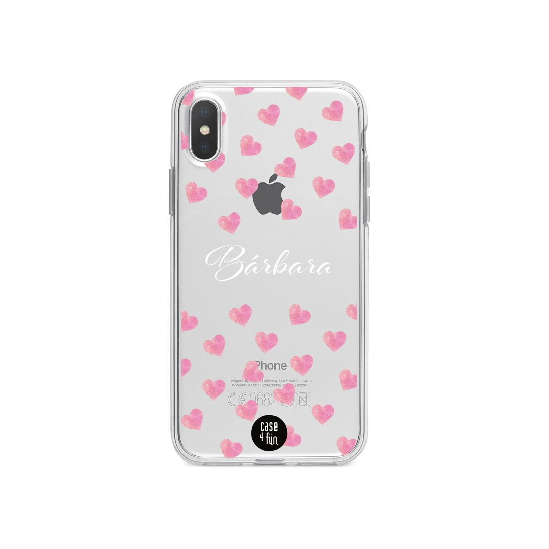 Case Watercolor Hearts