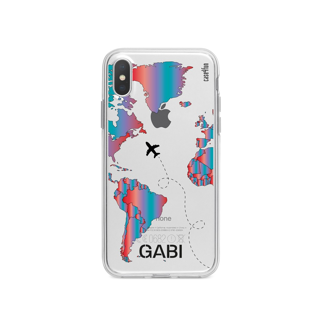 Case World Map Gradient 2
