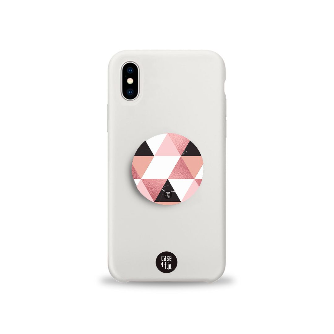 Kit Case White + Suporte Pop Branco Mosaico