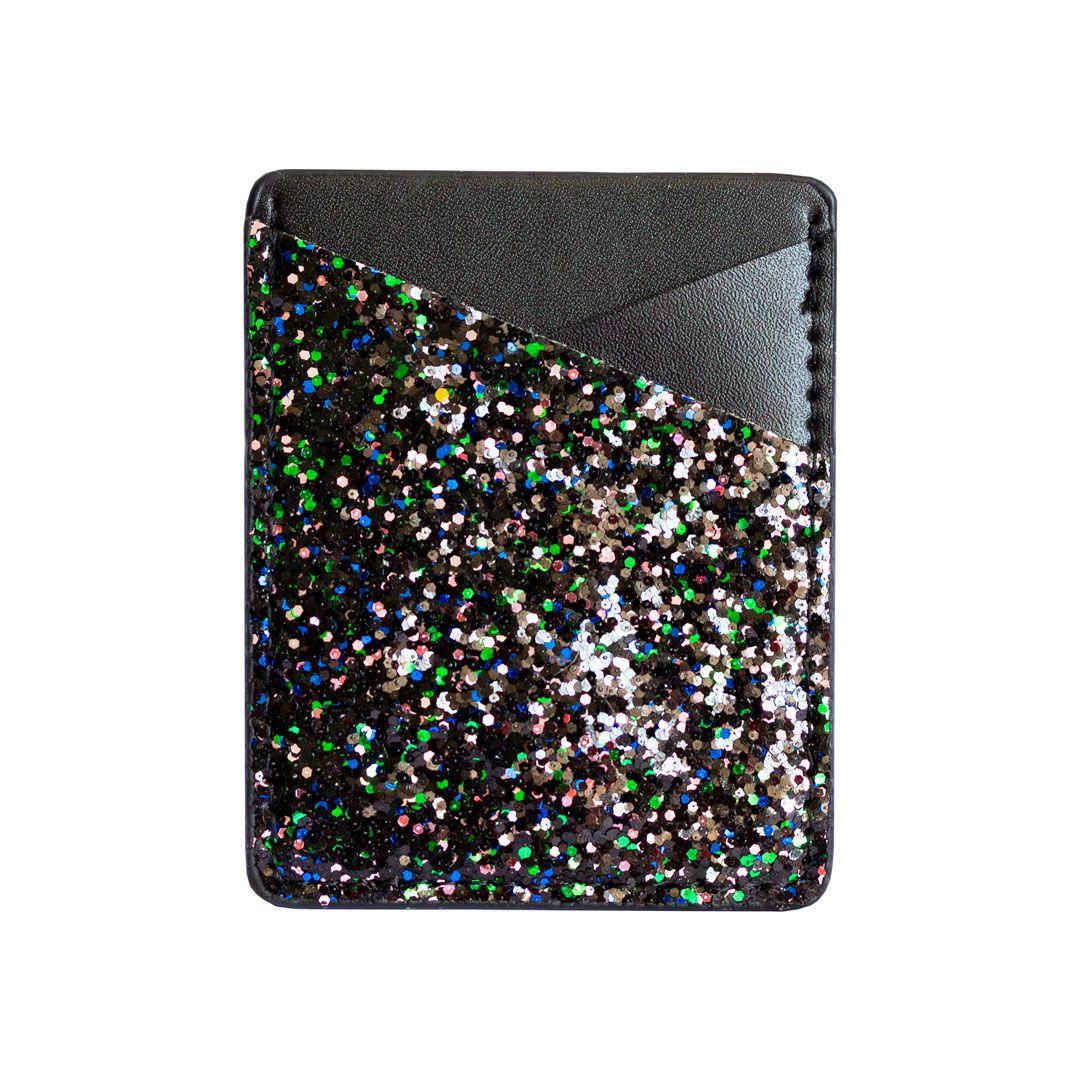 Porta Cartão Glitter Confetti