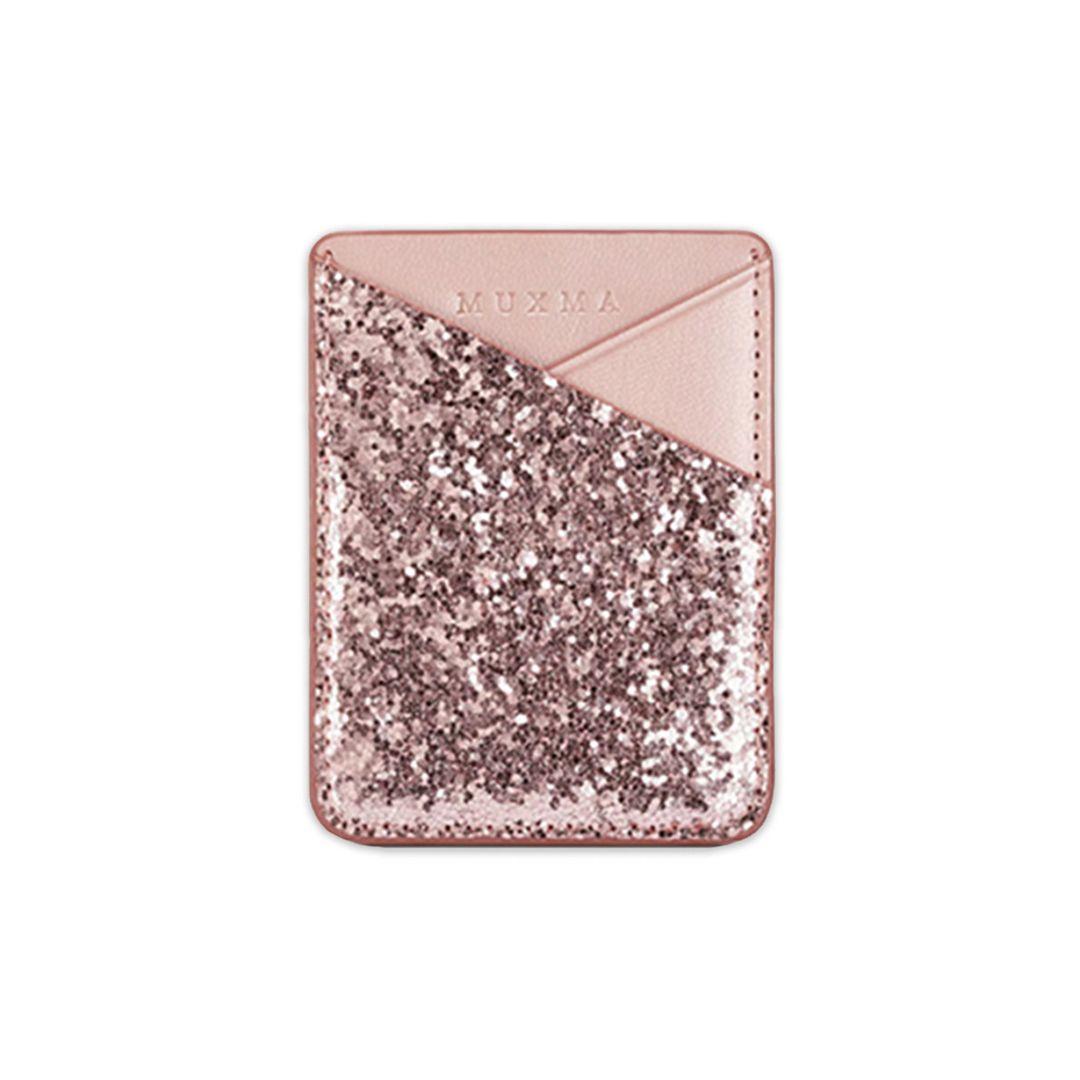 Porta Cartão Glitter Rosê