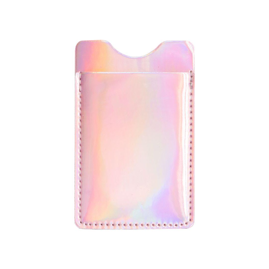 Porta Cartão Holográfico Rosê