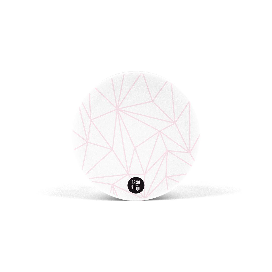 Suporte Pop Estampas - Geométrico Rose