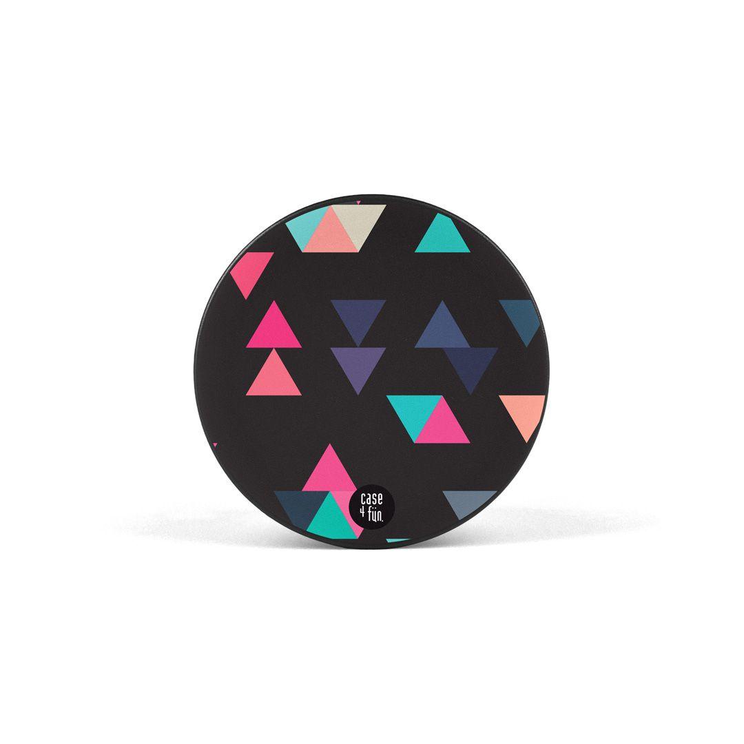 Suporte Pop Estampas - Triângulos Coloridos