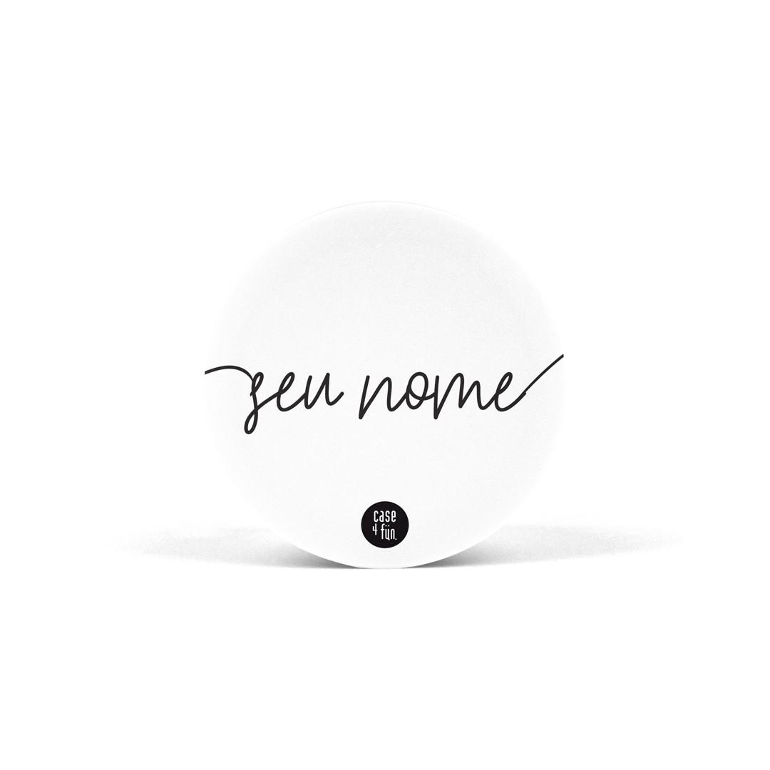 Suporte Pop Personalizável Branco - Básica com Nome