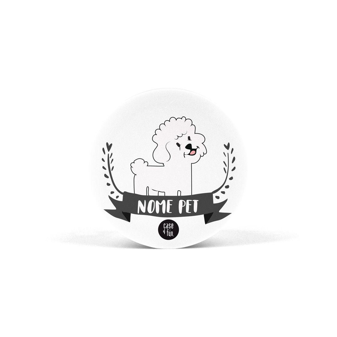Suporte Pop Pets - Bichon Frise