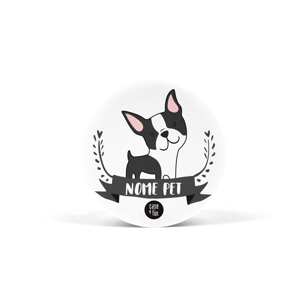 Suporte Pop Pets - Boston Terrier
