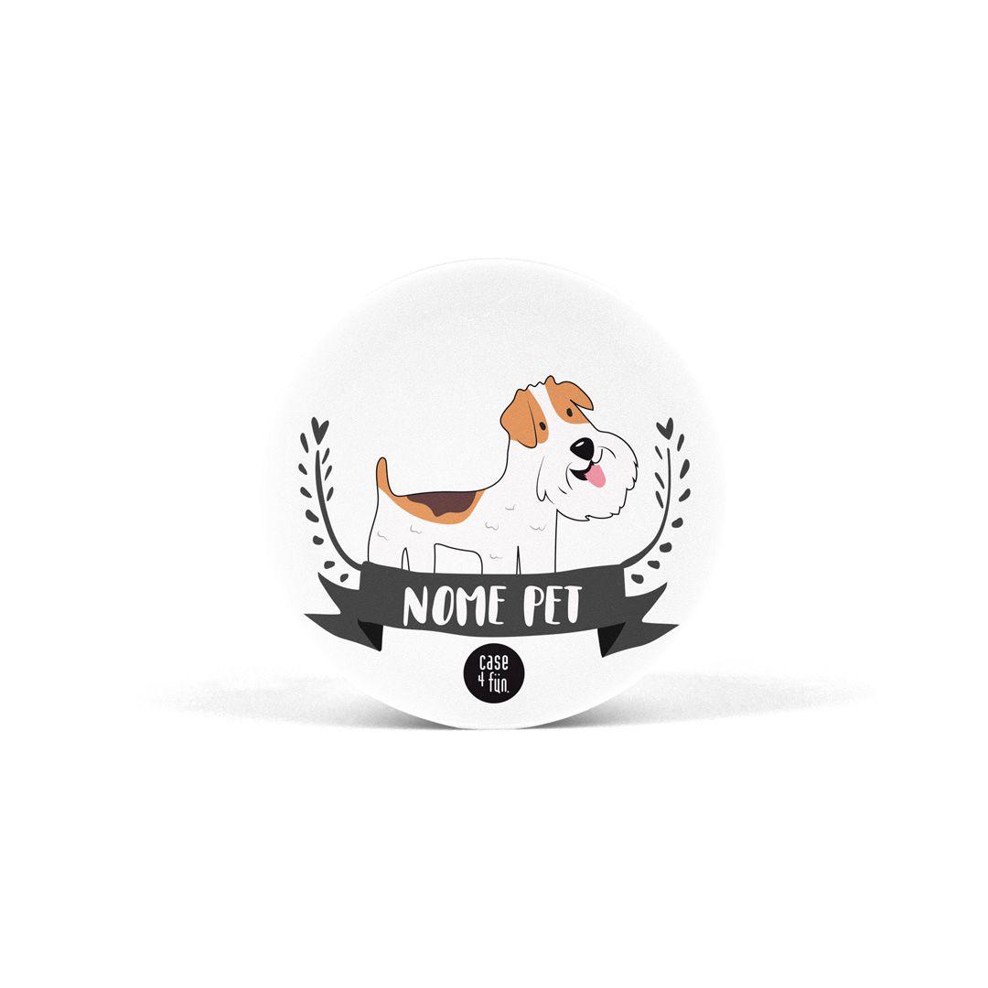 Suporte Pop Pets - Fox Terrier