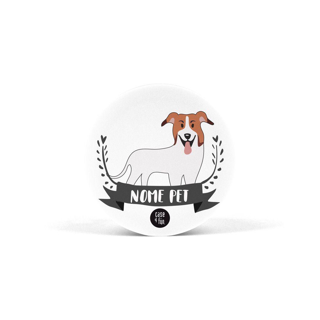 Suporte Pop Pets - Vira-lata Branco