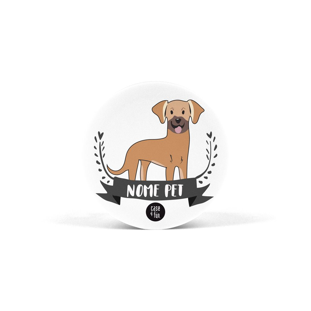Suporte Pop Pets - Vira-lata Caramelo