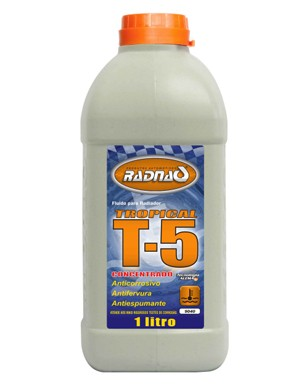 "Aditivo P/ Radiador Conc. ""Azul"" T5 Tropical (1000 Ml) Radnaq"
