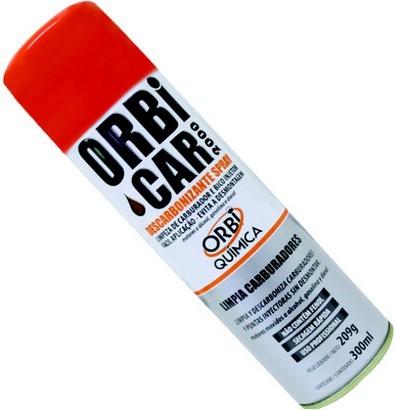 Limpa Bico Injetores / Descarbonizante - Spray - 300 Ml - Orbi Química