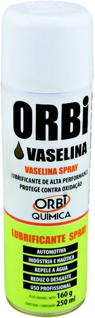Vaselina Liquida - Spray (250 Ml) - Orbi Química