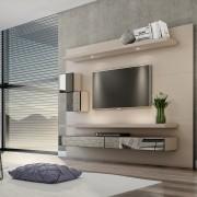 Home Suspenso Para TV Com Led Espelho e Nichos TB110E Dalla Costa