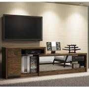 Rack Para Tv Extensível Com Espelho Brianza Tb400E Dalla Costa