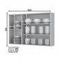 Cozinha Modulada Linha Americana com 10 Peças - Henn