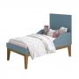 Dormitório Classic Retrô Com Guarda Roupa 3 Portas + Berço Mini Cama - Reller