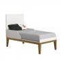 Dormitório Classic Retrô Com Guarda Roupa + Cômoda + Berço Mini Cama  Pes Natural - Reller