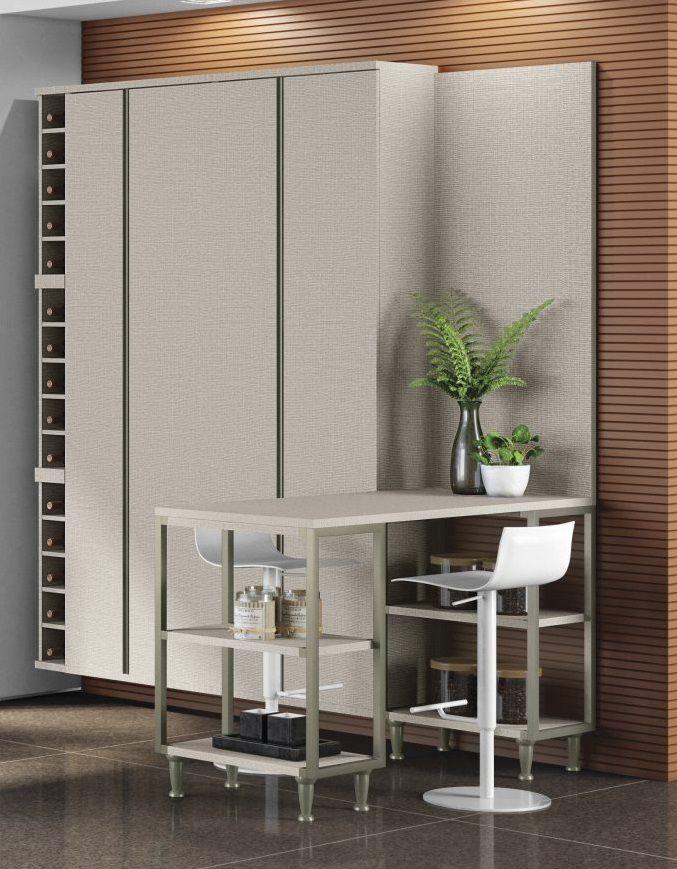 Armário Vertical - Da Cozinha Modulada 04 Smart - Mobler
