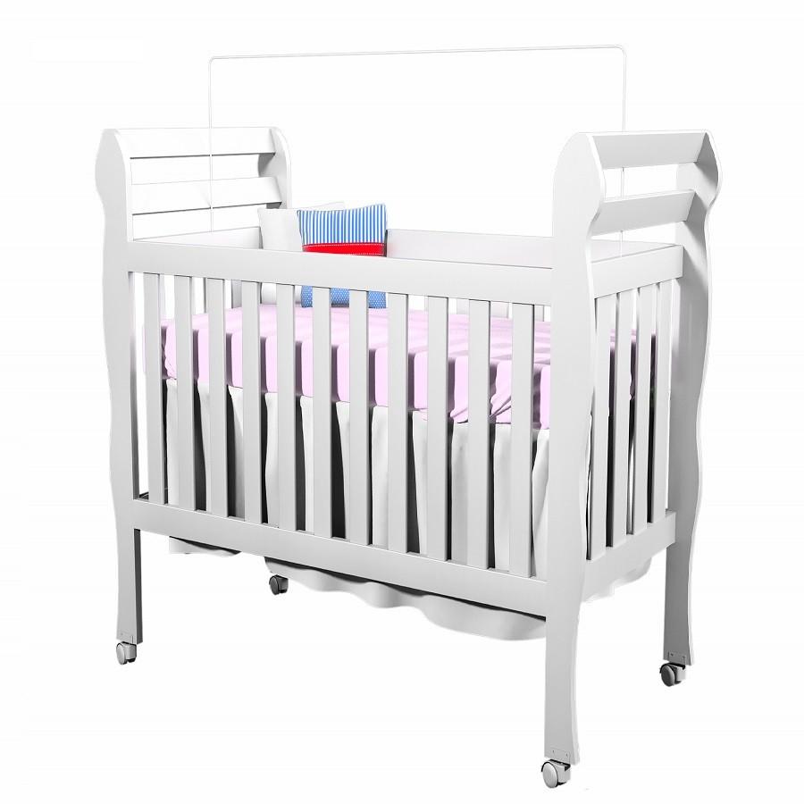Berço Mini Cama Bella 642 - Carolina Baby