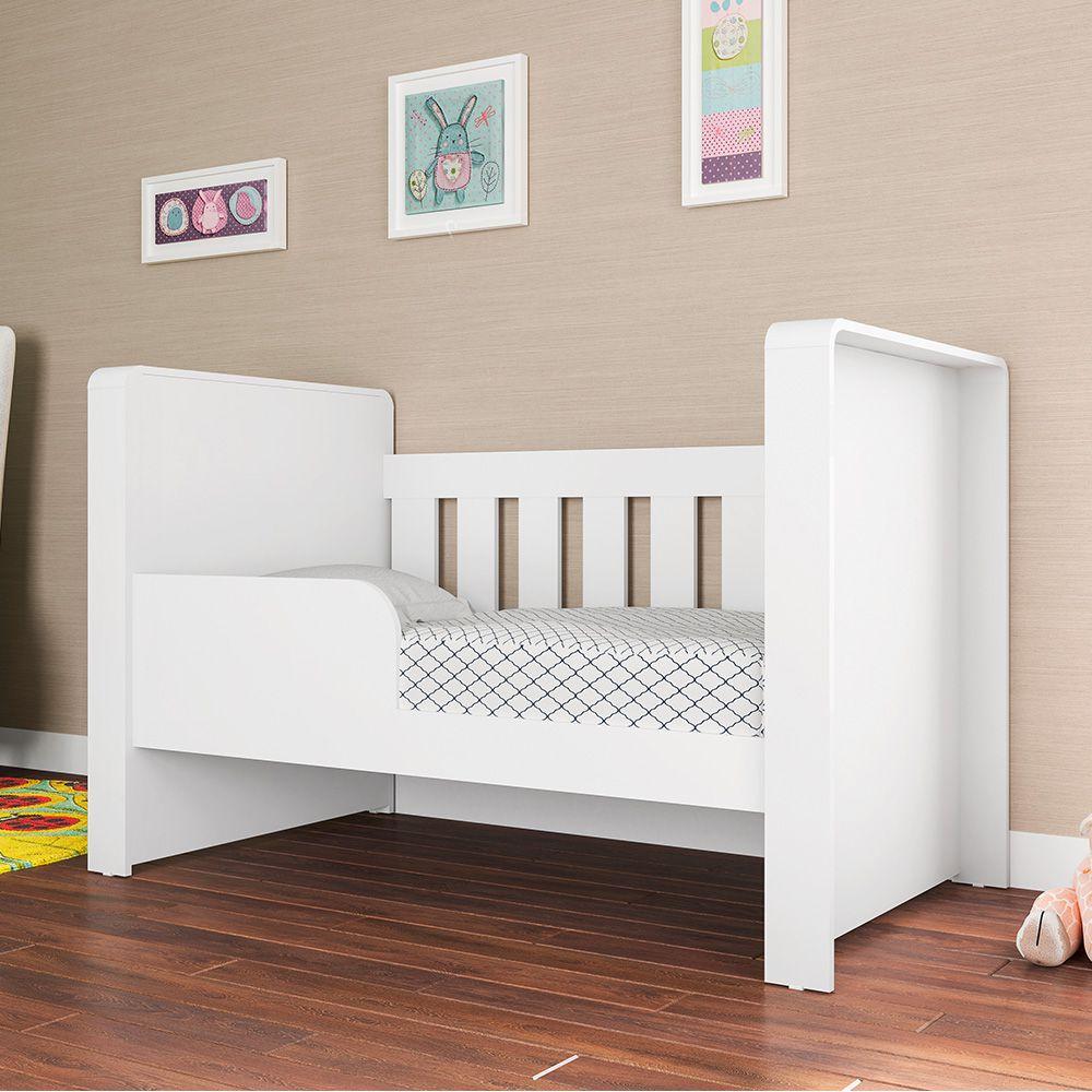 Berço Mini Cama Infantil Americano Doce Cheiro BE50 Art in Móveis