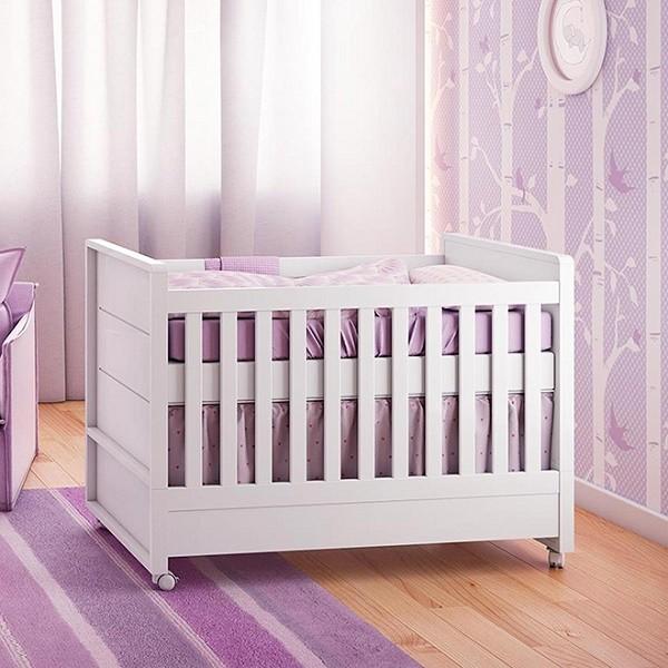 Berço Mini Cama Laís 1273 - Carolina Baby