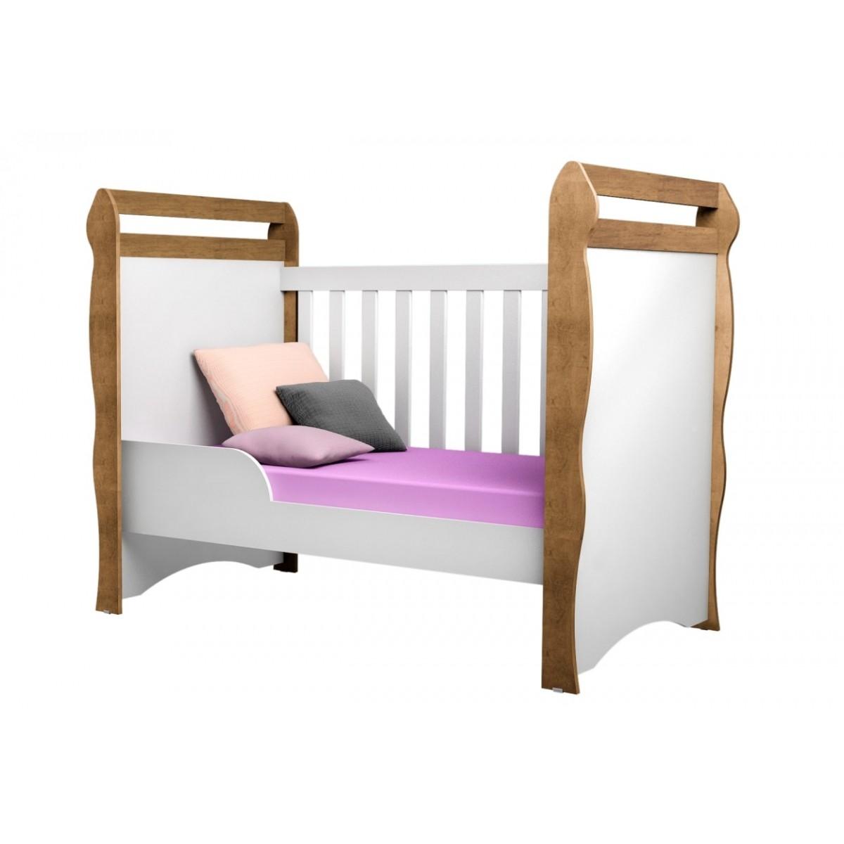 Berço Mini Cama Mirelle 332 - Carolina Baby
