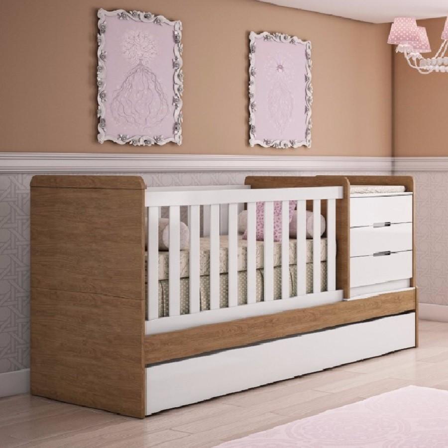 Berço Multifuncional Cléo - Carolina Baby