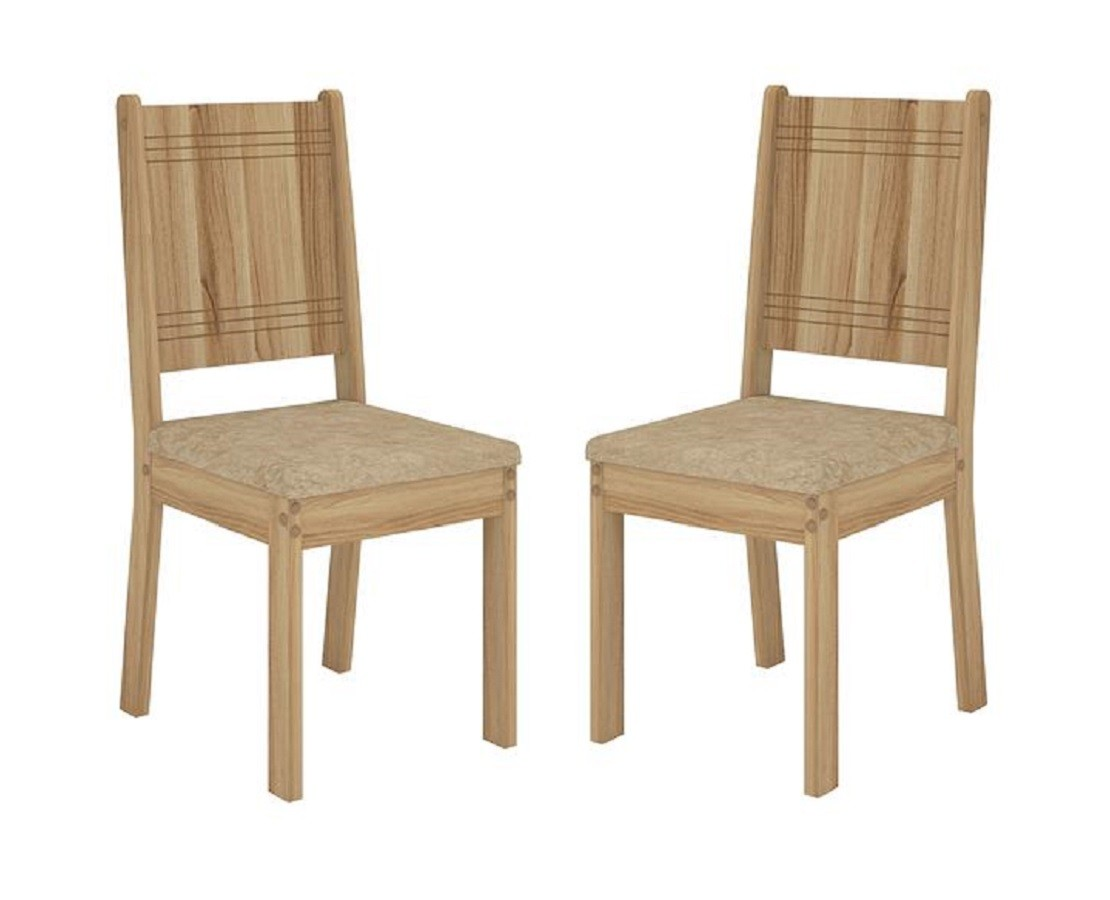 Cadeiras Romana 2 Peças Dj Móveis