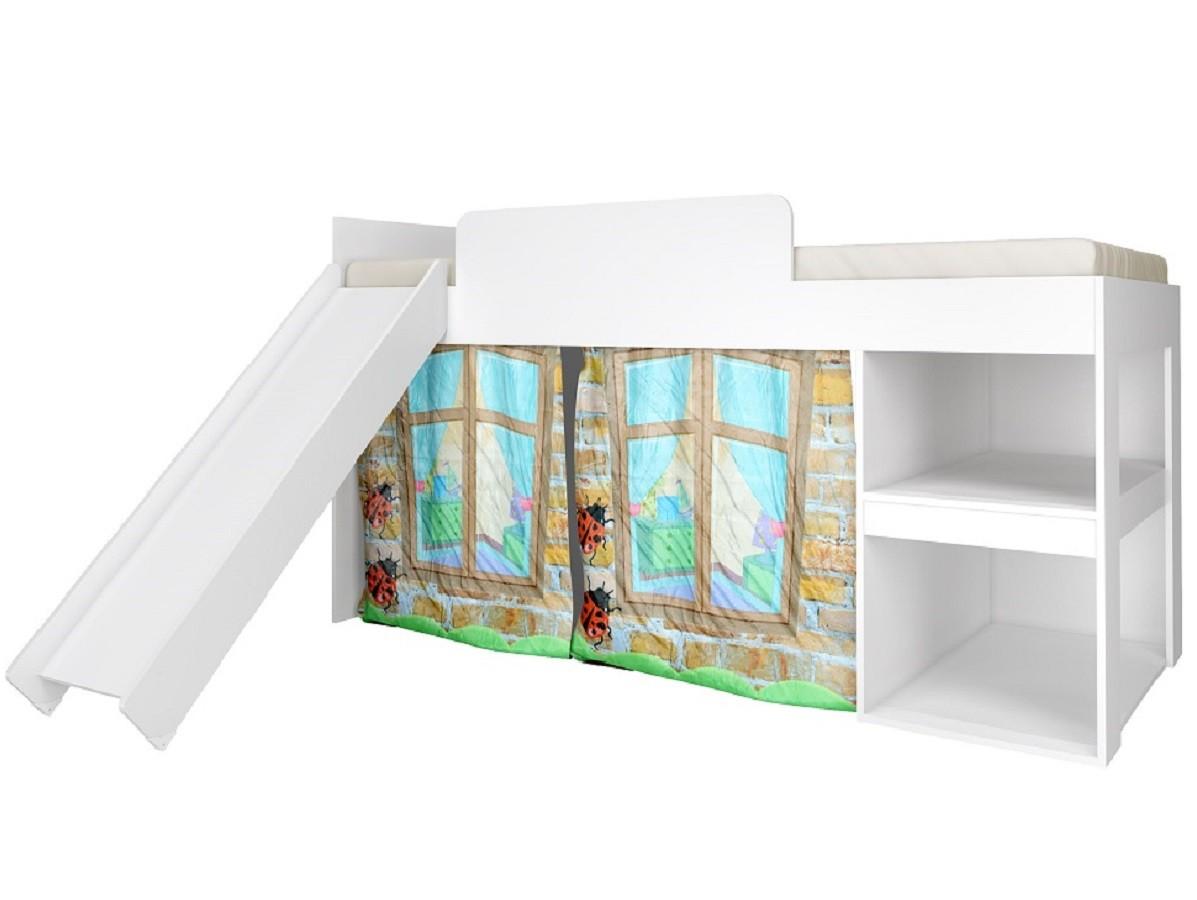 Cama Infantil Playground 3095 Meu Fofinho Branco - Art in Móveis