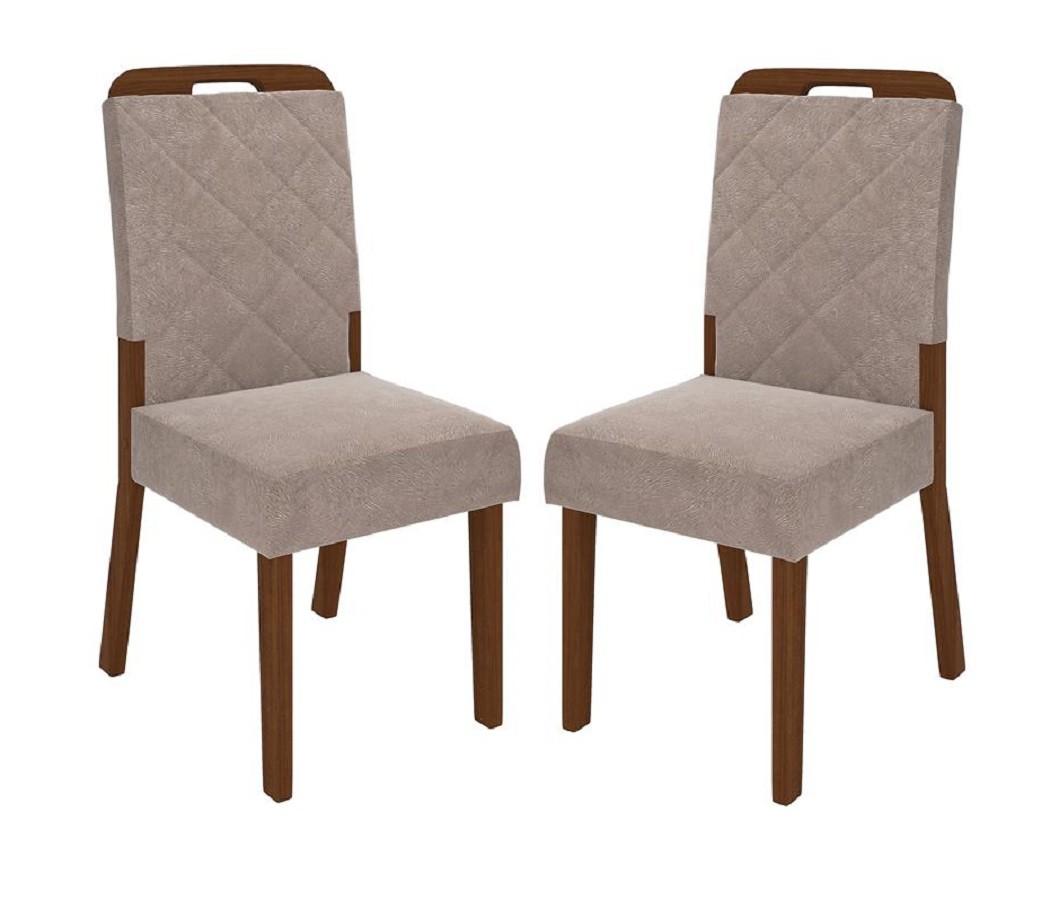 Conjunto com 2 Cadeiras Nevada - DJ Móveis