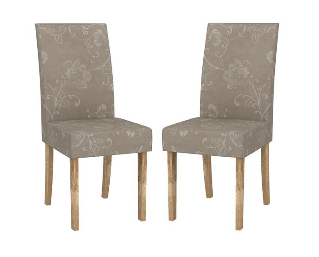 Conjunto com 2 Cadeiras Olimpia - DJ Móveis