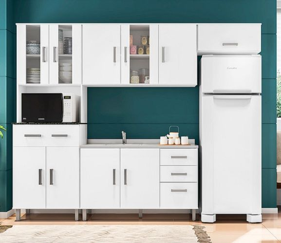 Cozinha Compacta 4 Peças Vitória Poliman