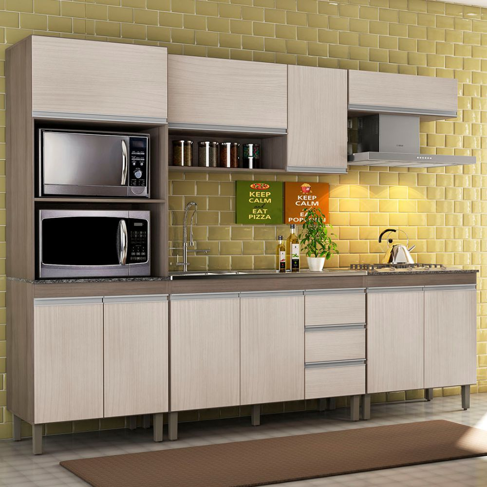 Cozinha Modulada 5 Peças 7650 Karen Peternella