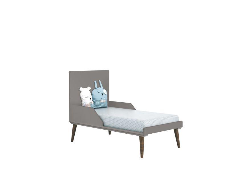 Dormitório Théo Retrô Com Guarda Roupa + Cômoda + Berço - Reller
